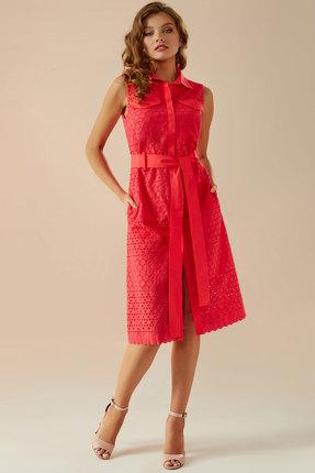Платье Andrea Fashion AF-18 красный
