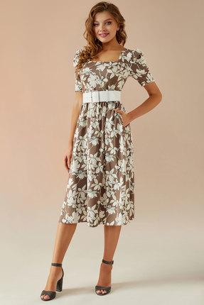 Платье Andrea Fashion AF-24 бежевый фото