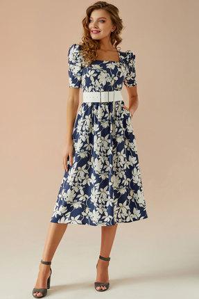 Платье Andrea Fashion AF-24 синий