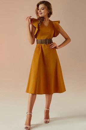 Платье Andrea Fashion AF-27 горчица