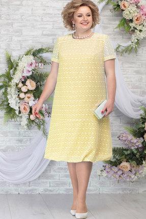Платье Ninele 5782 жёлтый