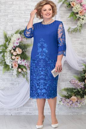 Платье Ninele 5783 василёк фото