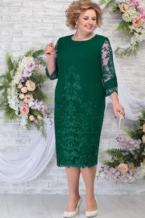 Платье Ninele 5783 изумруд