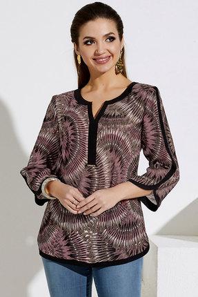 Блузка Lissana 4059 розовый с серым фото