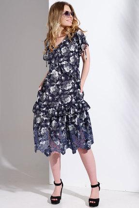 Платье Avanti Erika 1003 синие тона фото