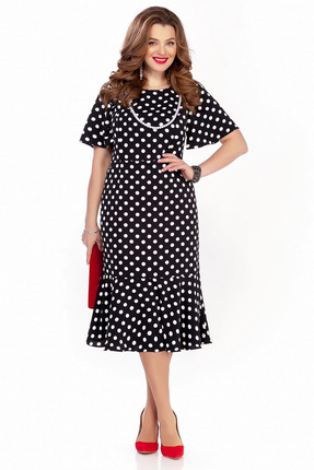 Платье TEZA 1240 черный фото