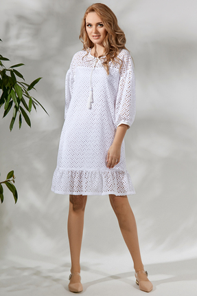 Платье Магия Моды 1712 белый фото