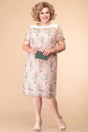 Платье Romanovich style 1-1995 розовые тона фото