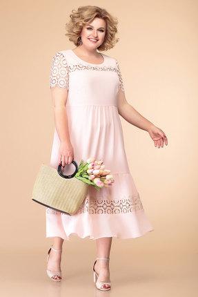 Платье Romanovich style 1-1996 розовые тона