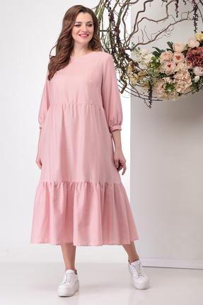 Платье Michel Chic 992 розовые тона