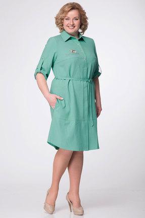 Платье Lady Three Stars 1771 бирюза фото