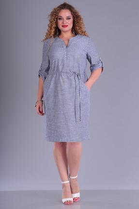 Платье FoxyFox 210 синие тона