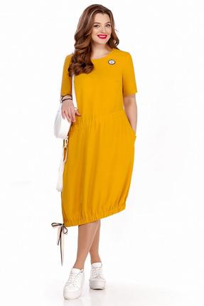 Платье TEZA 1245 желтый