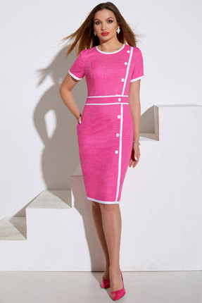 Платье Lissana 4047 розовый фото