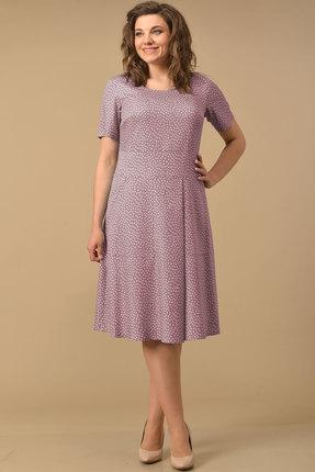 Платье Lady Style Classic 2073/1 лавандовый