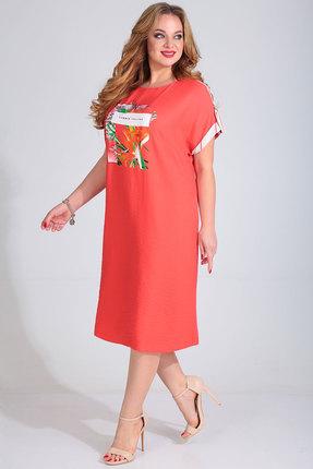Платье Golden Valley 4682 коралл фото