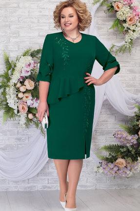 Платье Ninele 7287 изумруд фото
