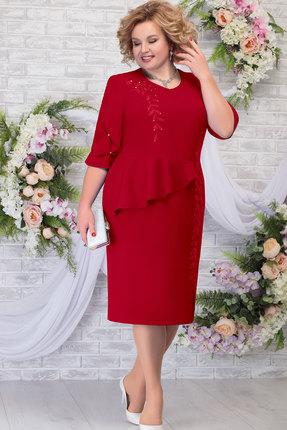 Платье Ninele 7287 красный фото
