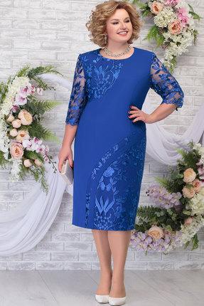 Платье Ninele 7288 василёк