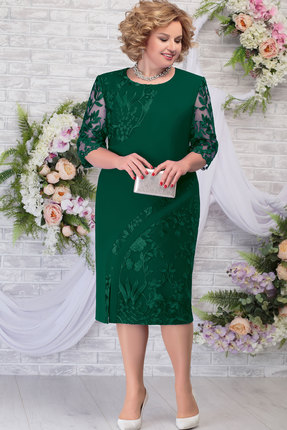 Платье Ninele 7288 изумруд