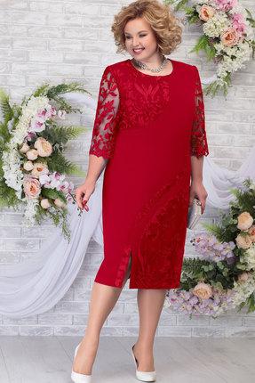 Платье Ninele 7288 красный фото