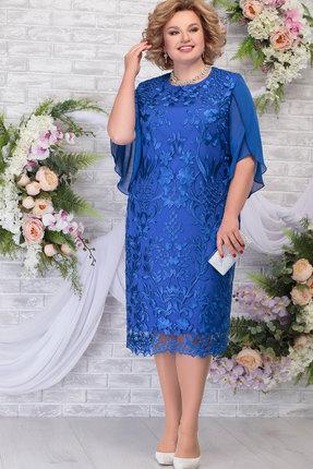 Платье Ninele 7289 василёк фото
