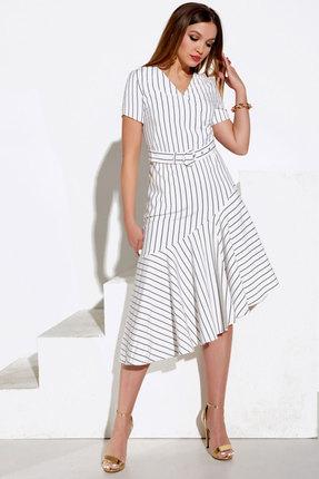 Платье Lissana 4051 белый