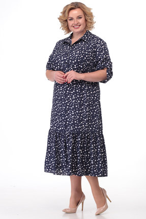 Платье KetisBel 1450 синий