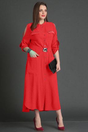 Платье Viola Style 0833 красный фото