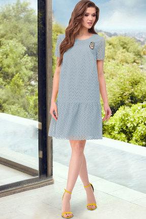 Платье ТАиЕР 856 голубой фото