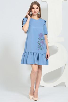 Платье Juliet Style 142 голубые тона фото