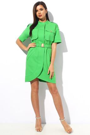 Платье Миа Мода 1139 салатовый