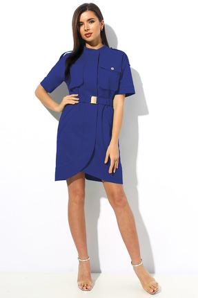 Платье Миа Мода 1139-1 темный василек фото