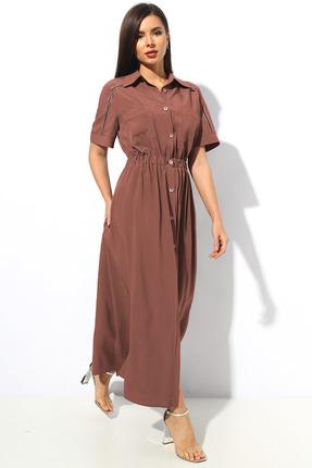 Платье Миа Мода 1146-1 капучино фото