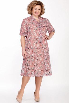 Платье LaKona 1304 дымчато-розовый