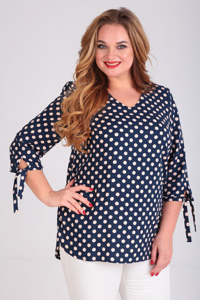 Блузка SOVITA 683 темно-синий фото