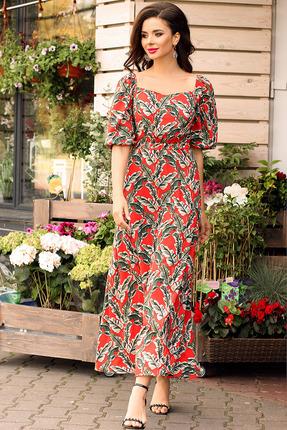 Платье Мода-Юрс 2565 красный