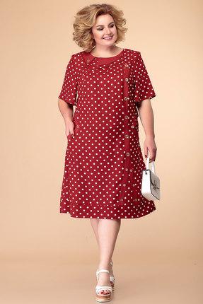 Платье Romanovich style 1-1182 бордо