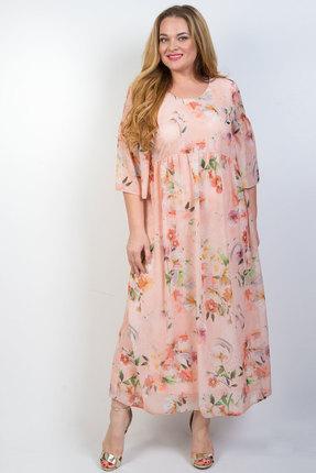 Платье TricoTex Style 11-20 персиковый фото