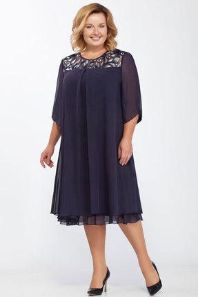 Платье Belinga 1001 синий