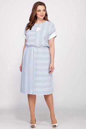 Платье Belinga 1034 голубой фото
