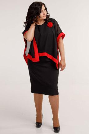 Платье Belinga 1040 черные тона фото