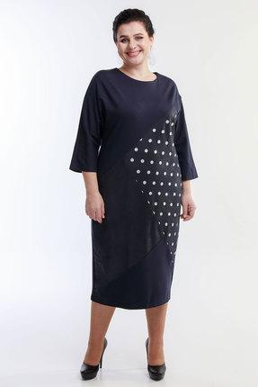 Платье Belinga 1042 темно-синий фото