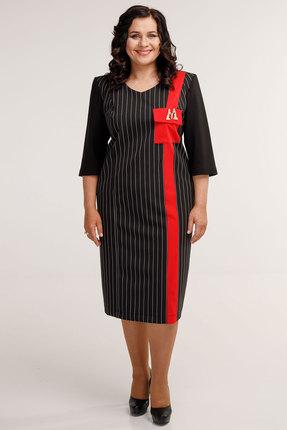 Платье Belinga 1044 черные тона фото
