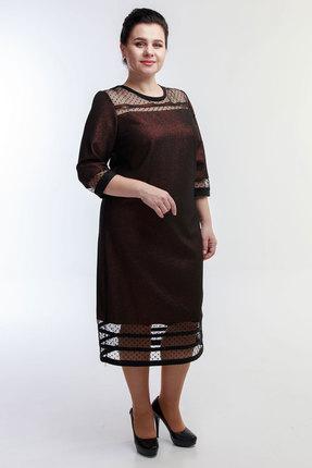 Платье Belinga 1058 коричневый фото