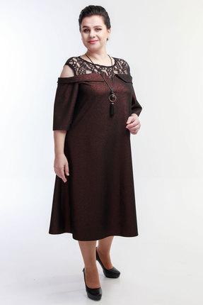 Платье Belinga 1059 коричневый