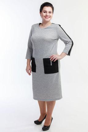 Платье Belinga 1062 серый фото