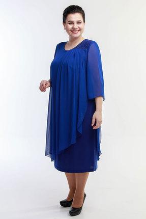 Платье Belinga 1067 синий фото