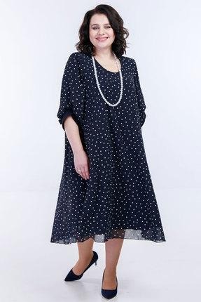 Платье Belinga 1083 тёмно-синий