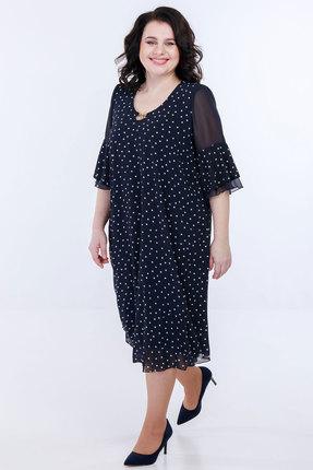 Платье Belinga 1084 темно-синий